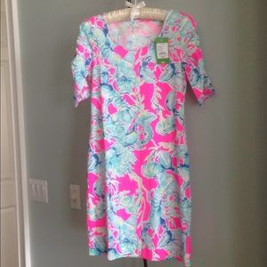 NWT LILLY PULITZER LAJOLLA  SHIFT DRESS